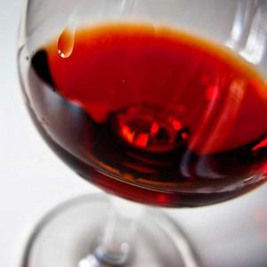 Lágrima del vino tinto