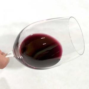 ribete o menisco en un vino tinto