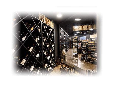 cámara fría de vinos