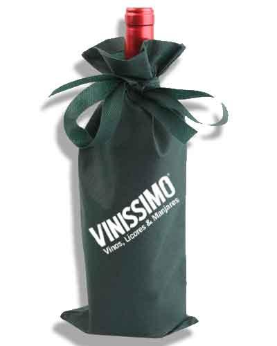 saquito regalo vino